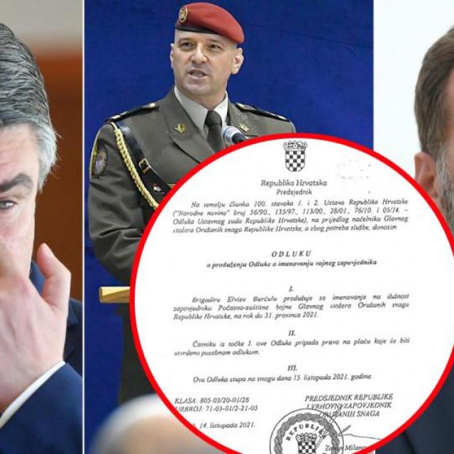 Milanović, Burčul i Banožić