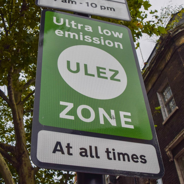 Zona ultra-niskih emisija (Ulez) u Londonu