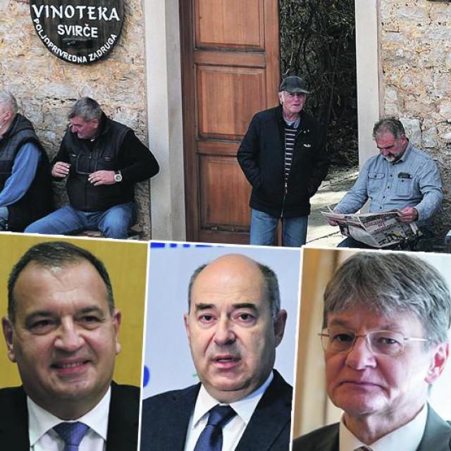 Jelsa, Andrej Plenokvić, Vili Beroš, Frane Barbarić, Radovan Dobronić