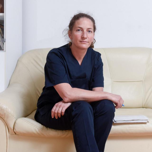 Zagreb, 071021.<br /> Ilica 197.<br /> Dr. Iva Kirac, kirurginja koja radi na Institutu za tumore.<br />