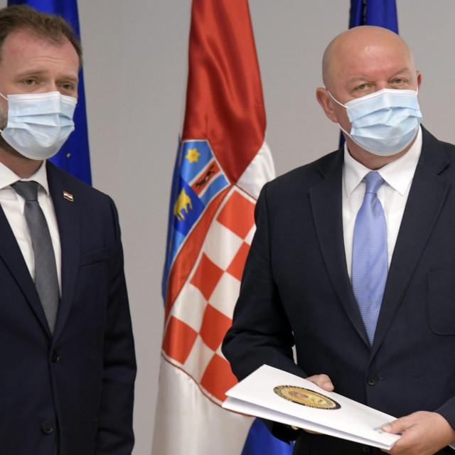 Mario Banožić i Marijan Mareković
