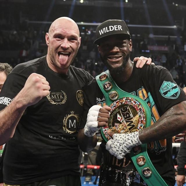 Tyson Fury i Deontay Wilder