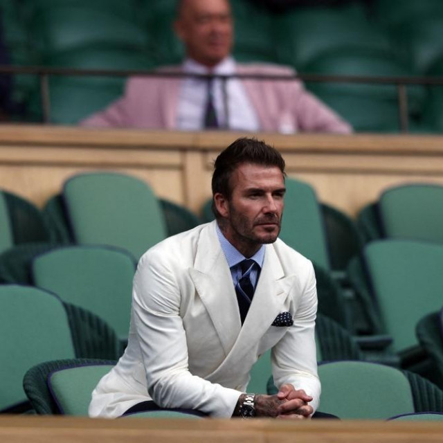 Bivši engleski nogometni kapetan David Beckham