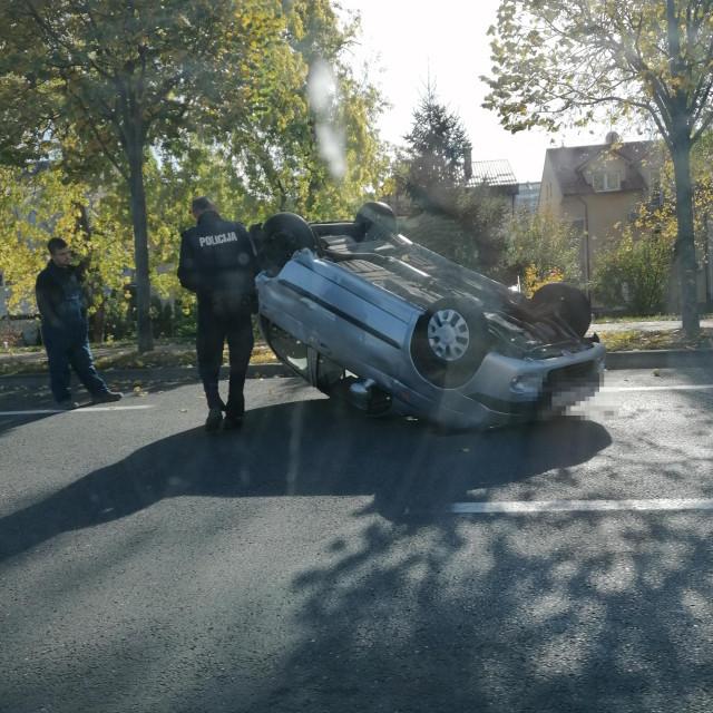 Prometna nesreća na zagrebačkoj aveniji