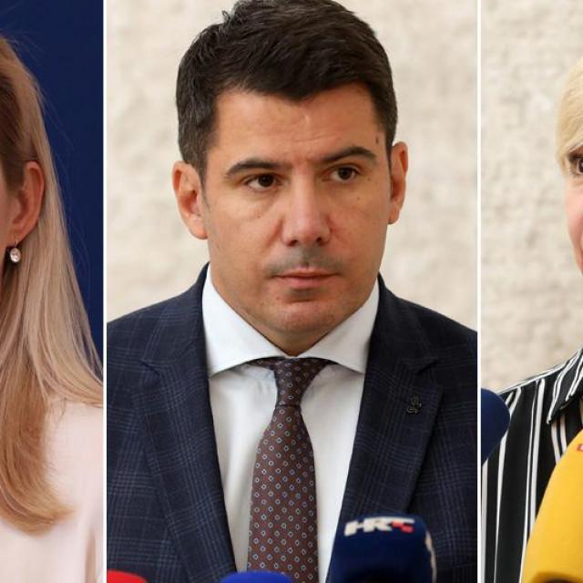 Mirela Ahmetović, Nikola Grmoja i Sandra Benčić