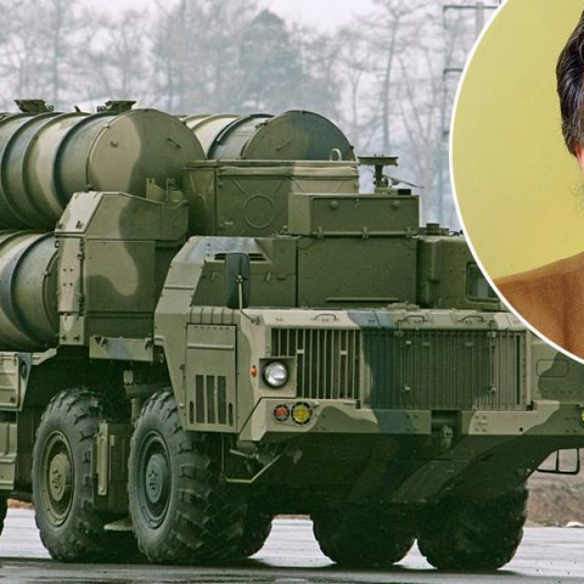 Ilustracija - raketni sustav S-300 i Zvonko Zubak