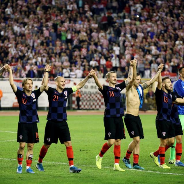 Poljud je bio pun na utakmici Hrvatske i Mađarske