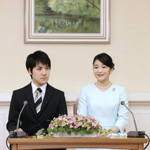 Kei Komuro i princezaMako