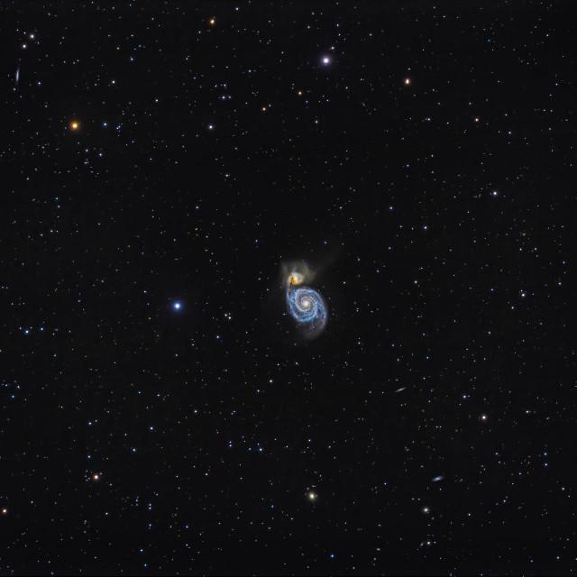 Galaksija Messier 51