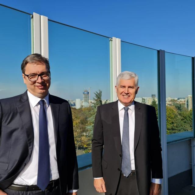 Aleksandar Vučić i Dragan Čović
