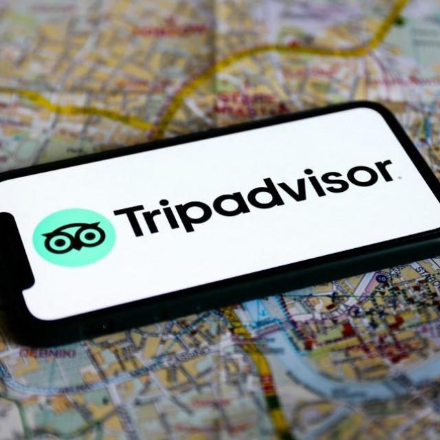 Tripadvisor logo; ilustracija