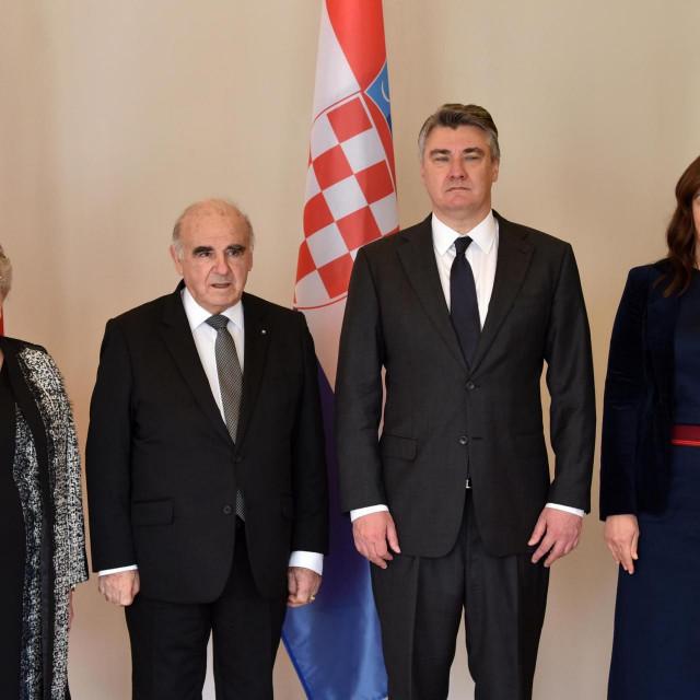 Susreta predsjednika Republike Hrvatske Zorana Milanovića i predsjednika Republike Malte Georgea Velle