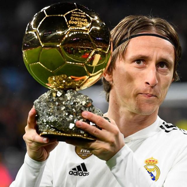 Luka Modrić osvojio je Zlatnu loptu 2018. godine