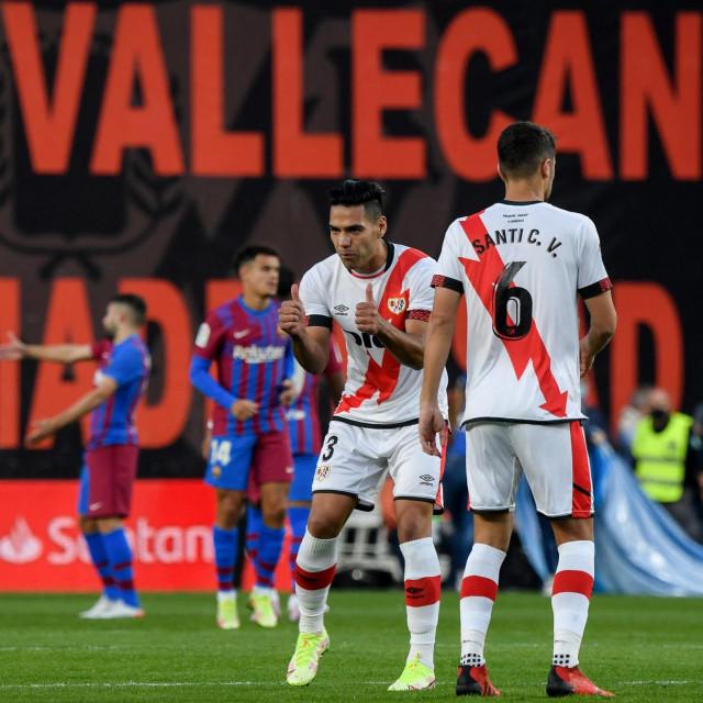 Radamel Falcao zabio je Barceloni